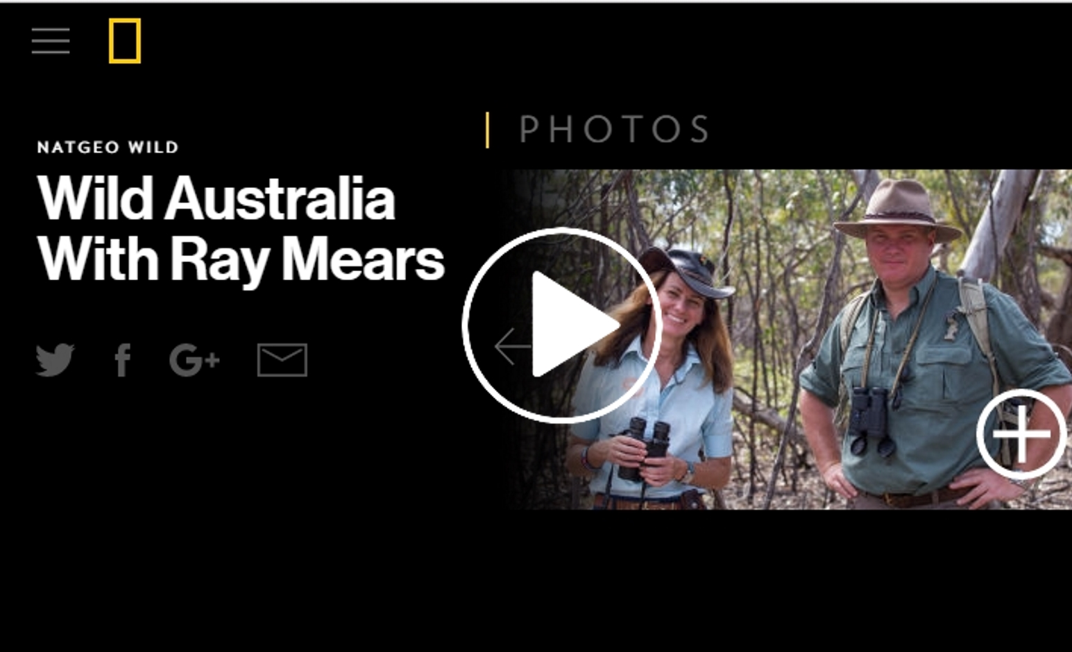 Echidna Walkabout on Ray Mears