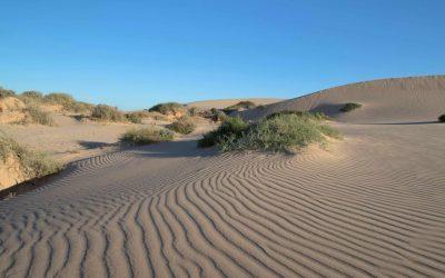 Sand is a travel destination