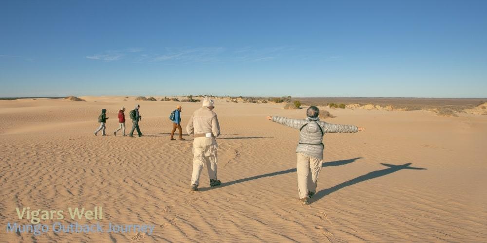 travel sand dunes Australia