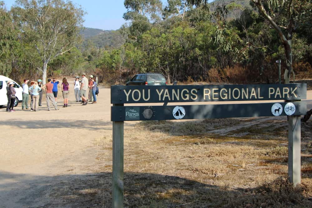 You Yangs Park Victoria sign