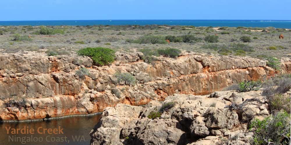 scenery Cape Range Western Australia
