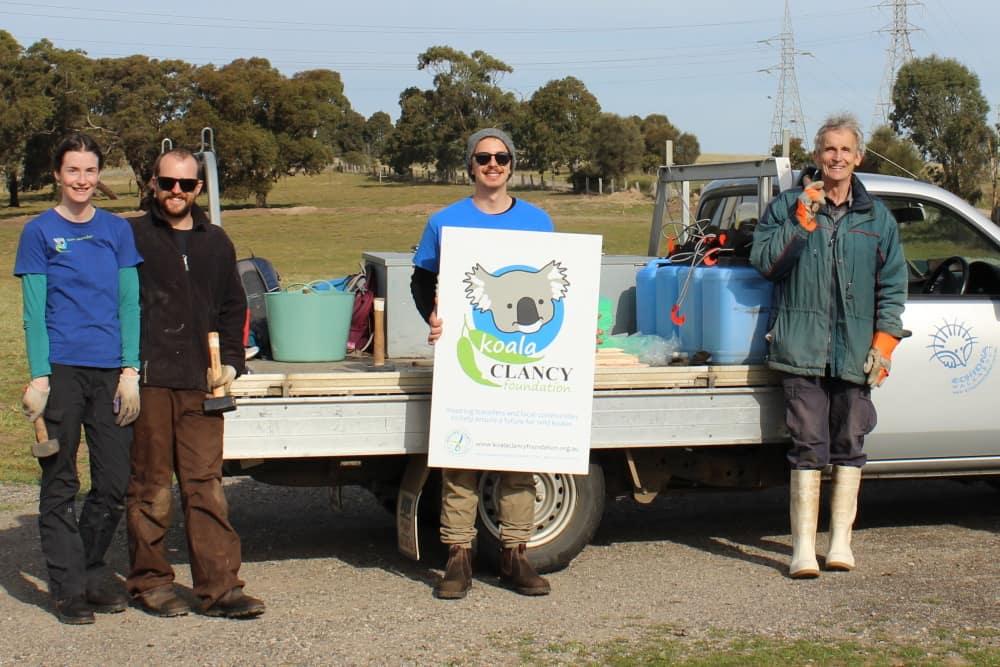 Echidna Walkabout Koala Clancy Foundation tree planters